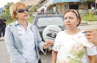 Protesta en la Av. Aragua