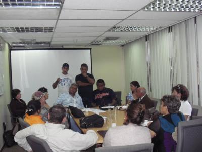 Documento entregado en la reunión 8-01-2011 en la Gobernación del estado Aragua